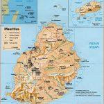 Map of Mauritius Islands