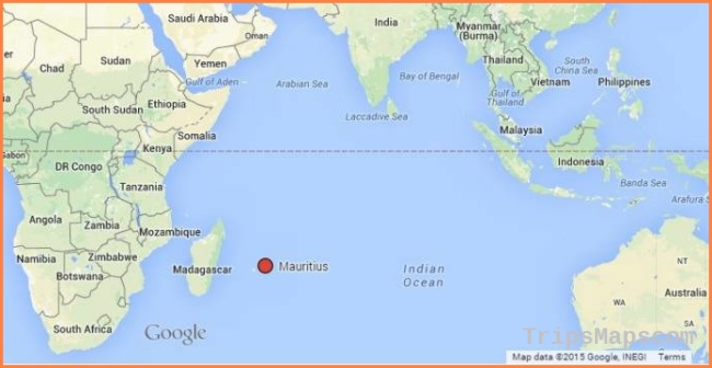 Where is Mauritius? Location map of the island