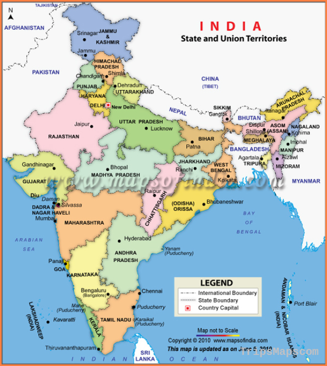 Map of India, India Maps, Maps India, Maps of India, India Map