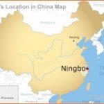 Ningbo Maps, Maps of Ningbo Tourist Attrations