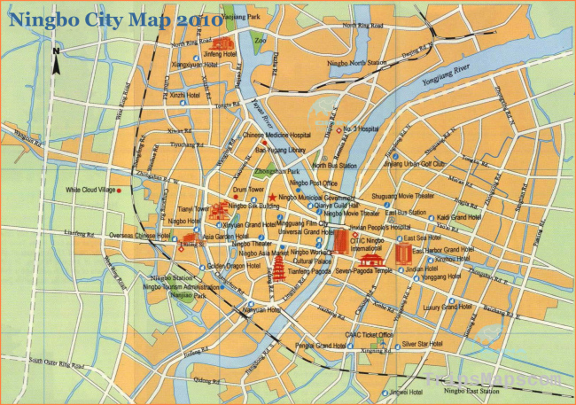 Ningbo Map, Ningbo City Map, Ningbo Google Map