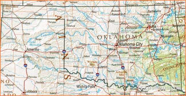 Oklahoma Maps - Perry-Castañeda Map Collection - UT Library Onlin