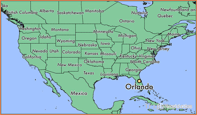 Where is Orlando, FL? / Orlando, Florida Map