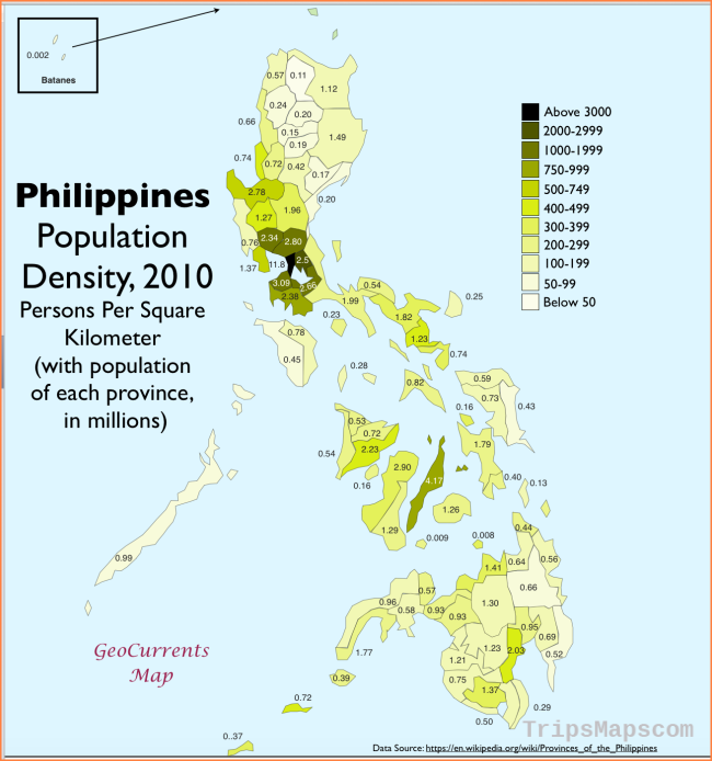 GeoCurrents Maps of the Philippines