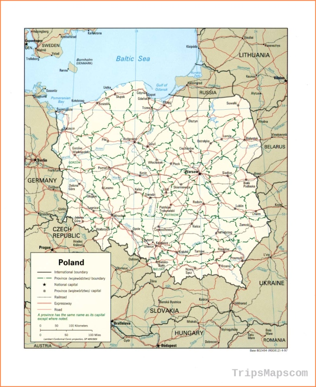 Poland Maps - Perry-Castañeda Map Collection