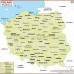 Poland Road Map | Europe Roadtrip | Pinterest | Map, Poland and Road