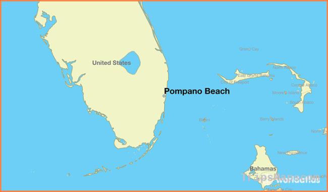 Where is Pompano Beach, FL? / Pompano Beach, Florida Map