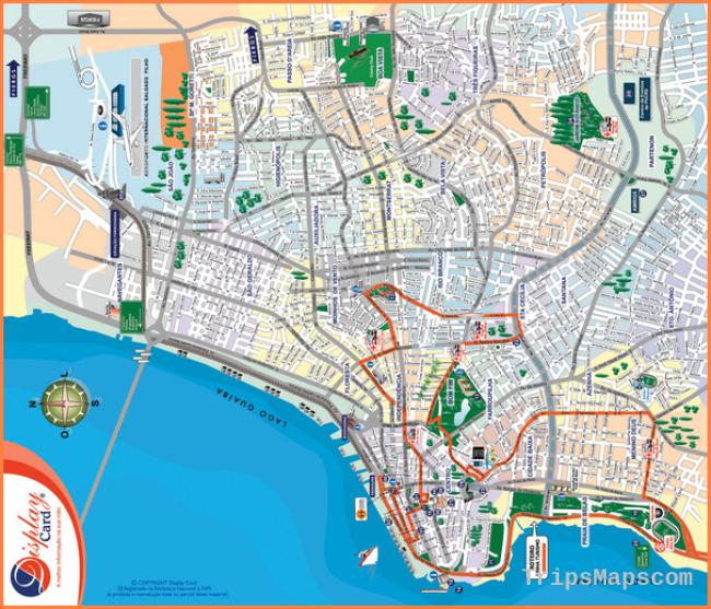 Porto Alegre Map - Porto Alegre Rio Grande do Sul Brazil