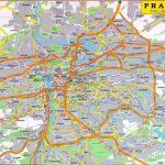 Maps of Prague   Detailed map of Prague in English   Maps of Prague