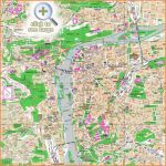 Prague maps - Top tourist attractions - Free, printable city street map