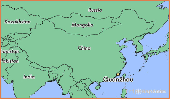 Where is Quanzhou, China? / Quanzhou, Fujian Map