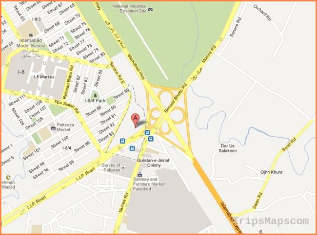 Map of Rawalpindi Pakistan | Where is Rawalpindi Pakistan