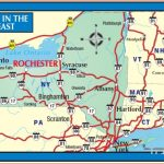rochester new york map