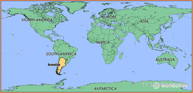 Where is Argentina? / Where is Argentina Located in The World