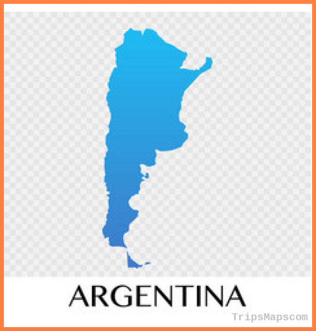 Argentina, Map & Outline Vector Images (over 230)