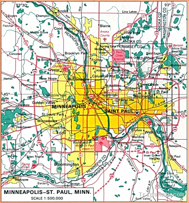 Minnesota Maps - Perry-Castañeda Map Collection