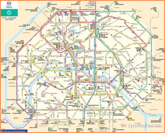 Maps of Paris you need - Discover Walks Paris