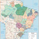 Map of Brazil
