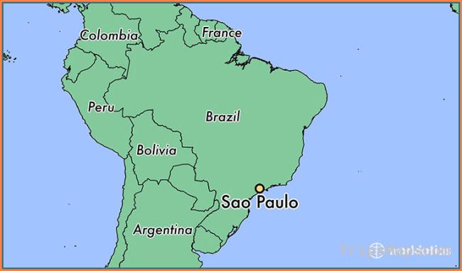 Where is Sao Paulo, Brazil? / Sao Paulo, Sao Paulo Map