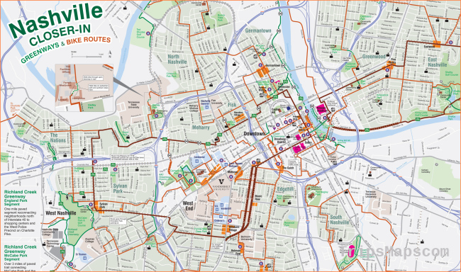Individual Maps | Greenways For Nashville