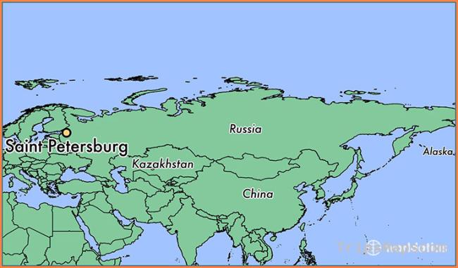 Where is Saint Petersburg, Russia?
