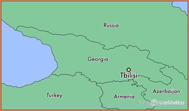 Where is Tbilisi, Georgia? / Tbilisi, T'bilisi Map