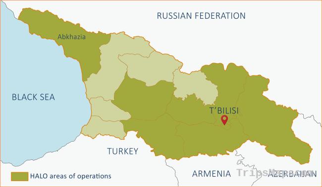 Our work in Georgia and Abkhazia