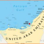 Which Countries Border The United Arab Emirates?