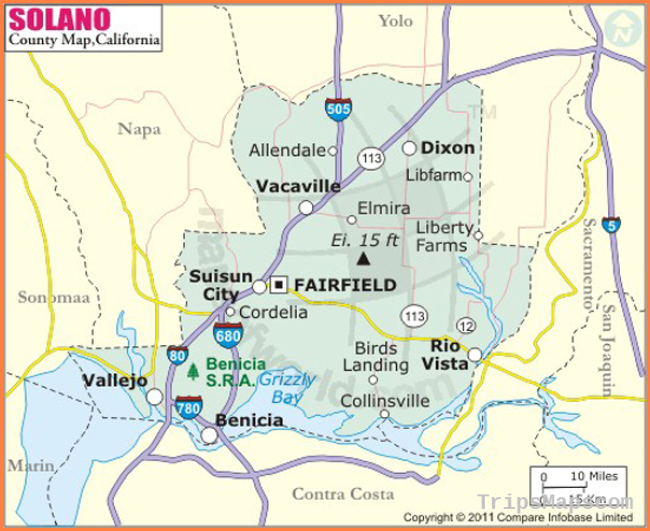 Buy Solano County Map