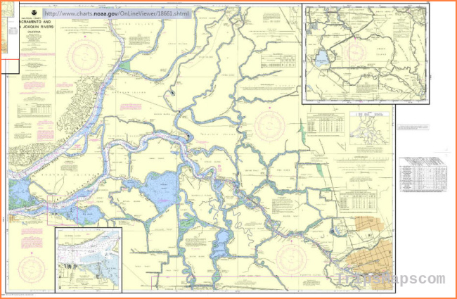 Delta Navigation Maps for Snug Harbor, Rio Vista, Isleton, Walnut