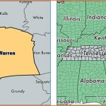 Warren County, Tennessee / Map of Warren County