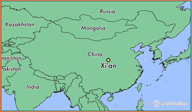 Where is Xi'an, China? / Xi'an, Shaanxi Map
