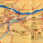 Xi'an Travel Map: Xi an maps, xi an attraction maps
