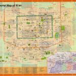 Tourist Map of Xian - Maps of Xi'an