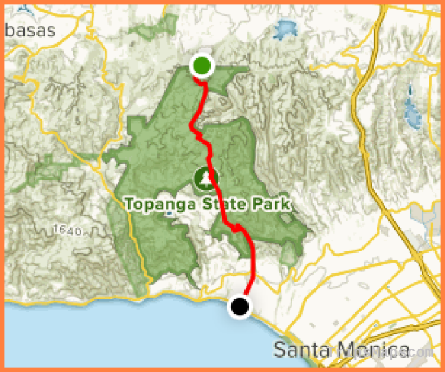 Lemming Trail: Temescal Canyon Road to the Beach - California ...