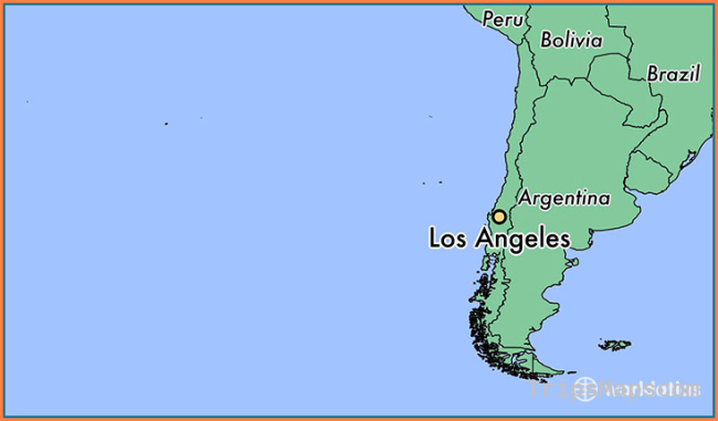 Los Angeles Map Location.Where Is Los Angeles Los Angeles Map Location Travel Map
