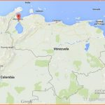 Where is Maracaibo on map Venezuela