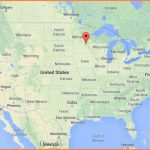 Where is Minneapolis on map of USA