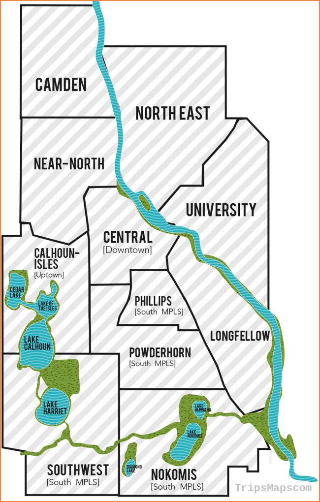 Minneapolis Neighborhood Maps