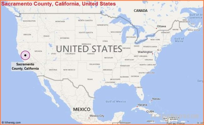 Where is Sacramento? Where is Sacramento CA Located in the US Map
