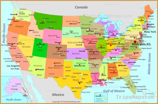 USA Maps | Maps of United States of America