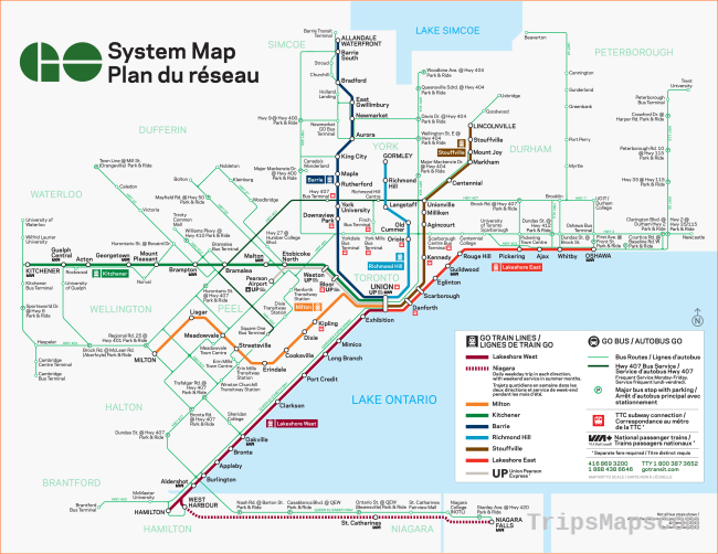System Map | Trip Planning