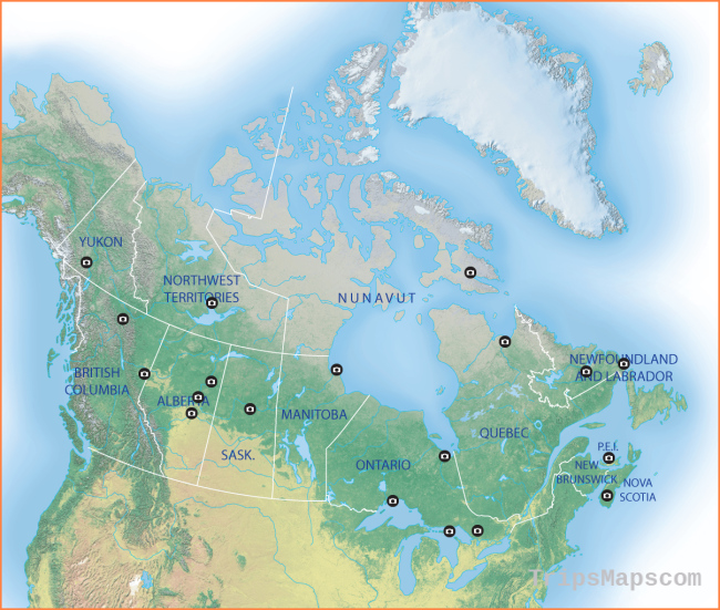 Map: The best places in Canada to view the northern lights