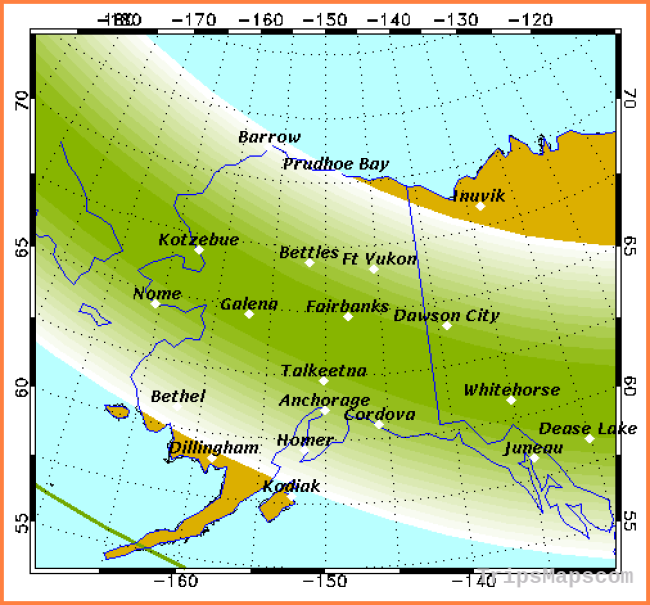 Aurora Forecast | Geophysical Institute