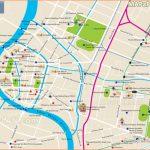 Bangkok maps - Top tourist attractions