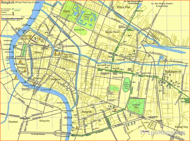 Large Bangkok Maps for Free Download and Print | High-Resolution and