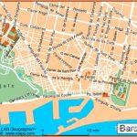 Map of Barcelona, Spain