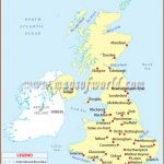 United Kingdom Major Cities Location Map