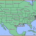 Beaumont Texas Map   Business