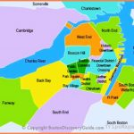 Best Boston Map for Visitors - Free Sightseeing Map - Boston